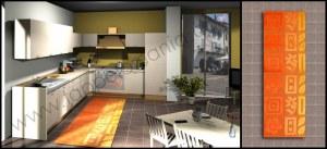 tappeti cucina stuoia cucina vendita online,007