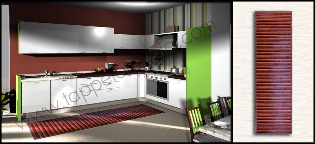 Tappeto cucina stuoie cucina bollengo - Tappeti cucina ebay ...