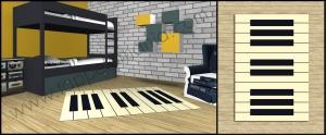 bambini pianoforte tappetomania