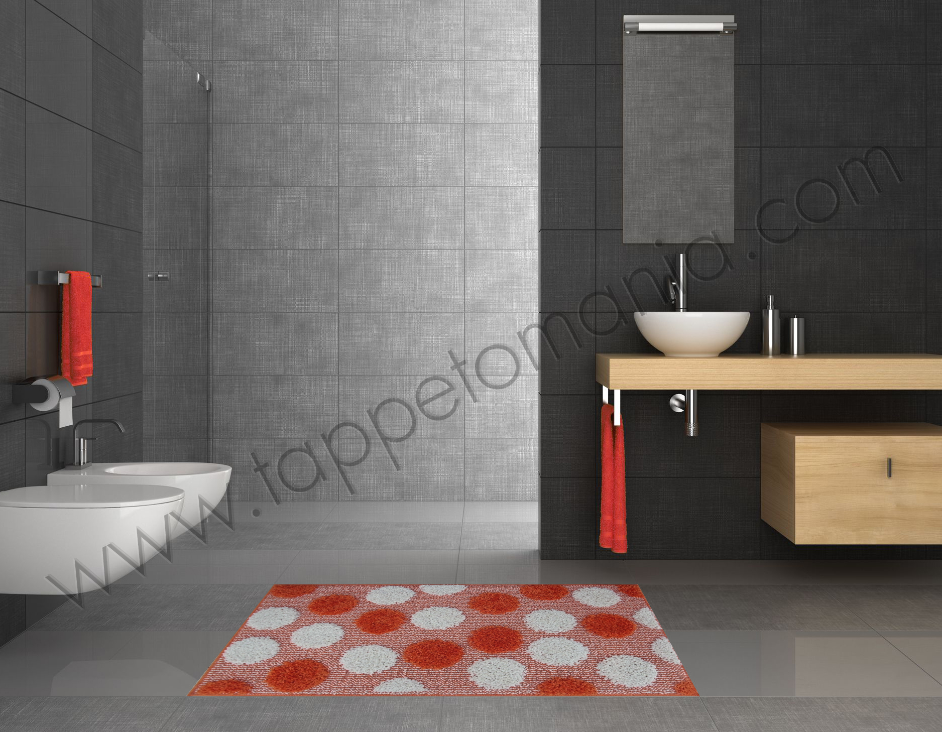 Bagno colorato piastrelle foto gallery with bagno colorato piastrelle simple bagno moderno - Outlet piastrelle bagno ...